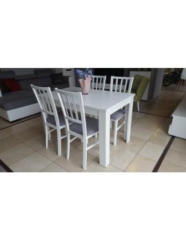 Zestaw stół Ramen midi + 4 krzesła Marynarz