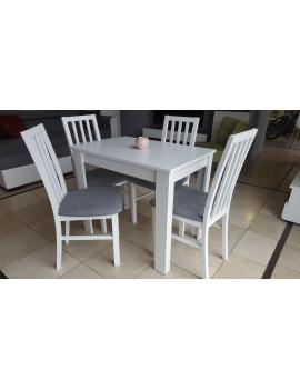 Miron stół rozkładany z 4 krzesłami Ramen