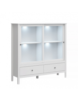 Ole low display cabinet 2W2S