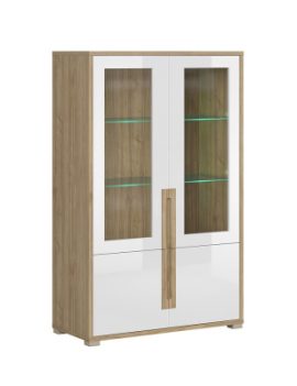 Lucas display cabinet 2D2W