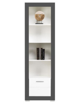 Gray bookcase GR-6