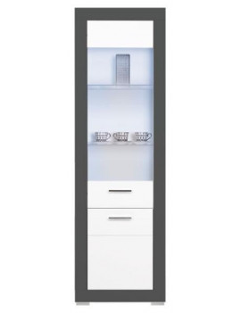 Gray display cabinet GR-7