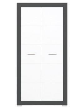 Gray wardrobe GR-9