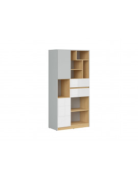 Nandu bookcase REG2D2S
