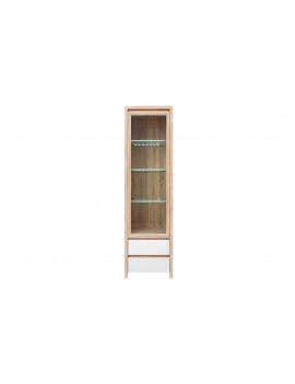 Kaspian display cabinet REG1W2S gloss