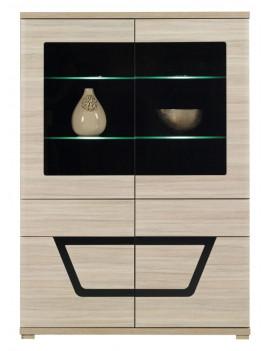 Tes display cabinet TS3 elm...