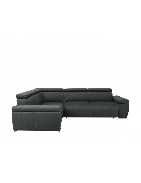 Loft corner sofa bed with...