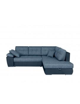 Corner sofa bed right Carl