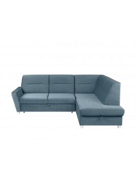 Sotelo Corner sofa bed with...