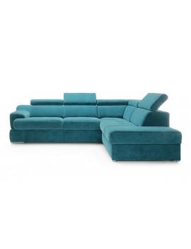Corner sofa bed right Belluno