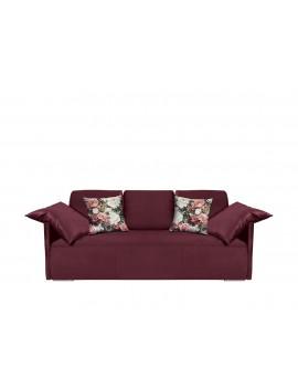 Sofa z funkcją spania i pojemnikiem Clarc
