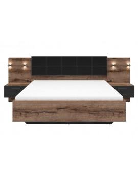 Kassel łóżko 160 A LOZ/160/A