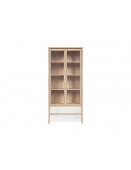 Kaspian display cabinet REG2W2S